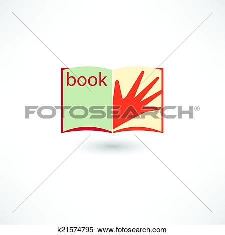 Clipart open book in hands clipart free download Clipart of Open book and hand k21574795 - Search Clip Art ... clipart free download