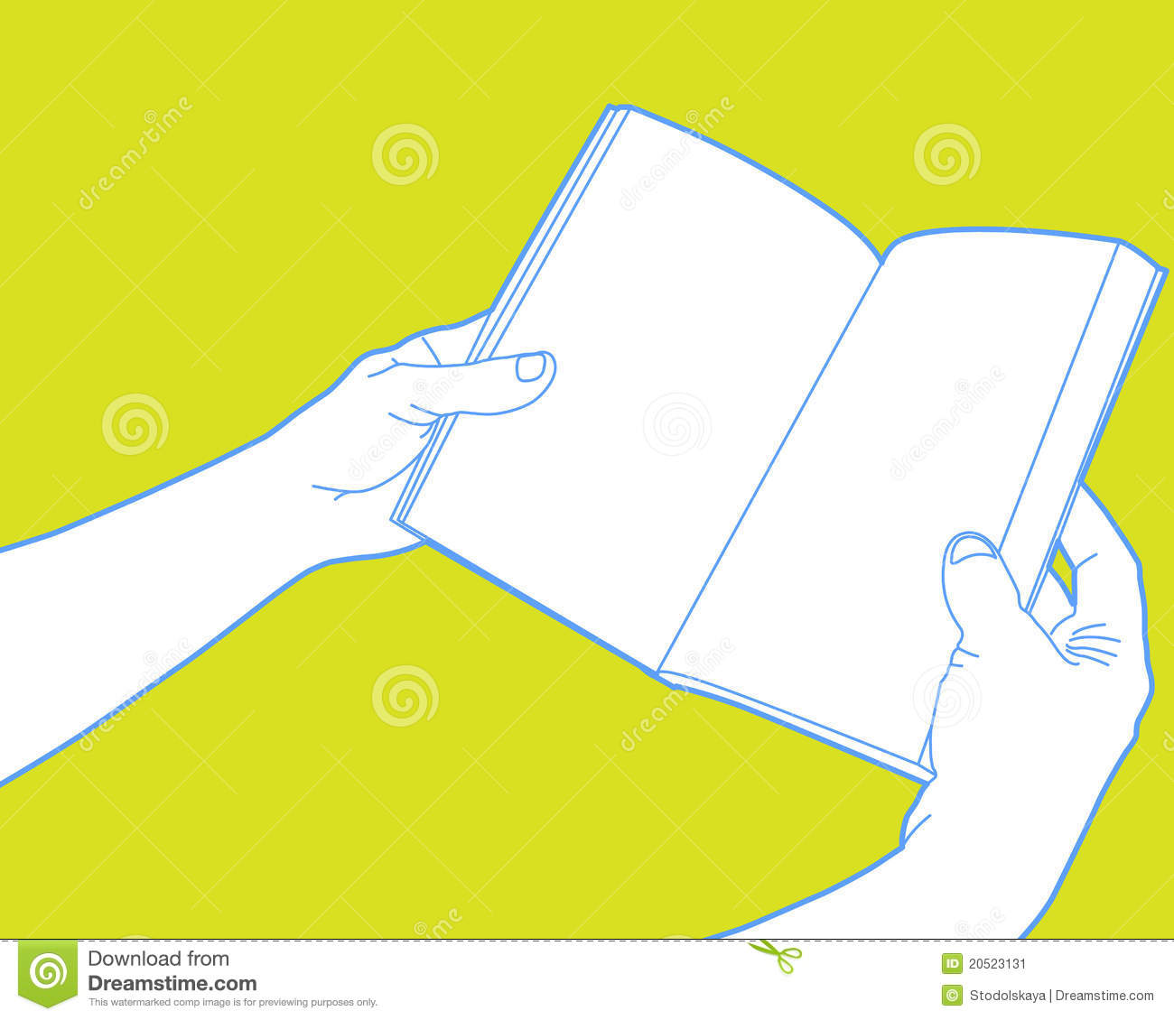 Clipart open book in hands clipart free stock Hands Holding Open Book Stock Illustrations – 177 Hands Holding ... clipart free stock
