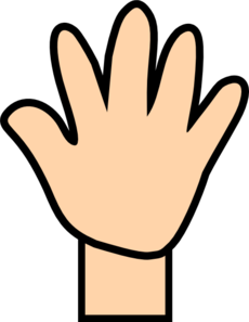 Clipart open hand image library download Open hand clipart | Clipart Panda - Free Clipart Images image library download