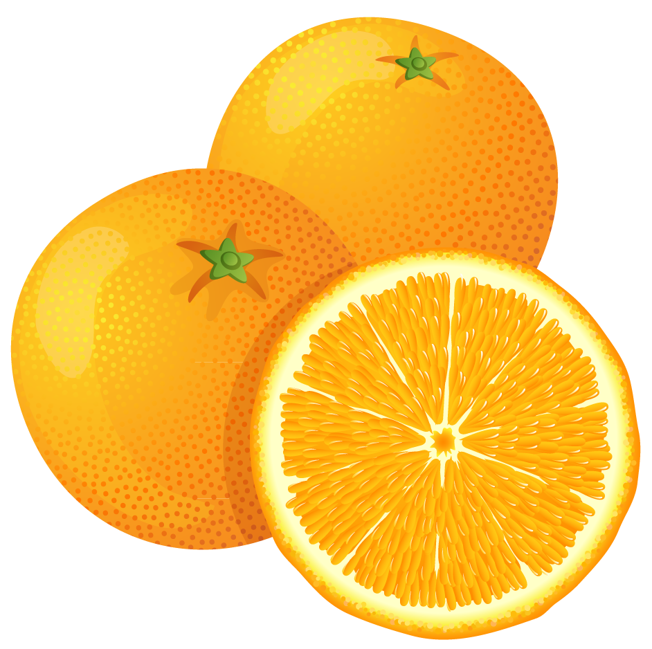 Orange free clipart