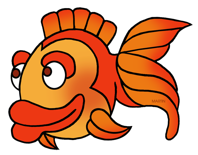 Fish with gills clipart. Animals clip art by