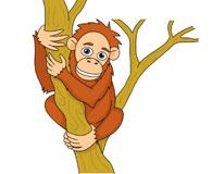 Clipart orangutan royalty free download Free Orangutan Clipart - Clip Art Pictures - Graphics - Illustrations royalty free download