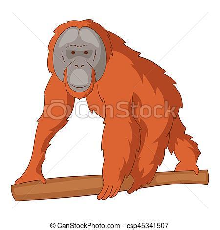 Clipart orangutan vector transparent stock Orangutan clipart 4 » Clipart Station vector transparent stock