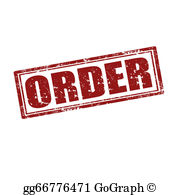 Clipart order jpg royalty free stock Orders Clip Art - Royalty Free - GoGraph jpg royalty free stock
