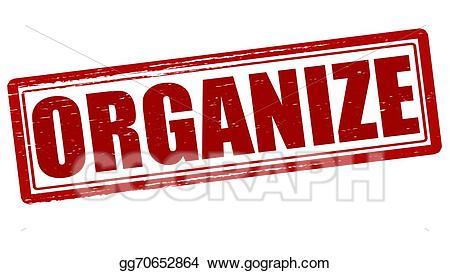 Clipart organize svg transparent download Vector Art - Organize. Clipart Drawing gg70652864 - GoGraph svg transparent download