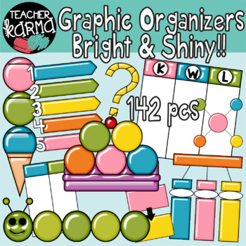 Clipart organizer banner royalty free download Graphic Organizers Clipart BUNDLE banner royalty free download