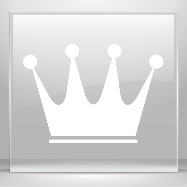 Crown green bowls clipart png library library Simple color vinyl Royal Crown Chess Queen King Kingdom Little ... png library library