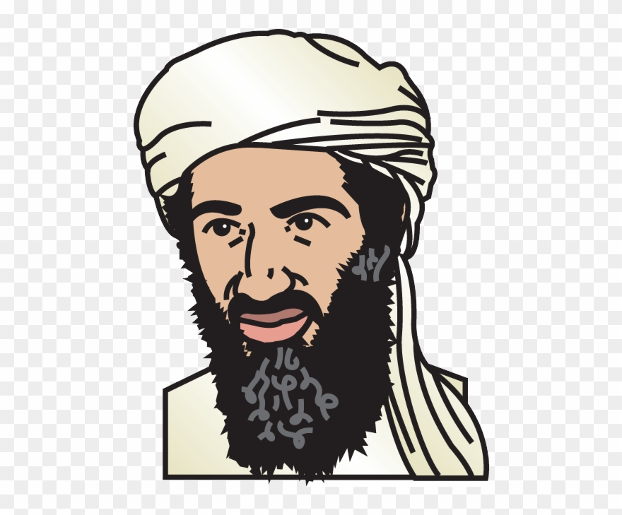 Clipart osama clipart free stock Osama Bin Laden Hide , Png Download Clipart (#2719021) - PinClipart clipart free stock