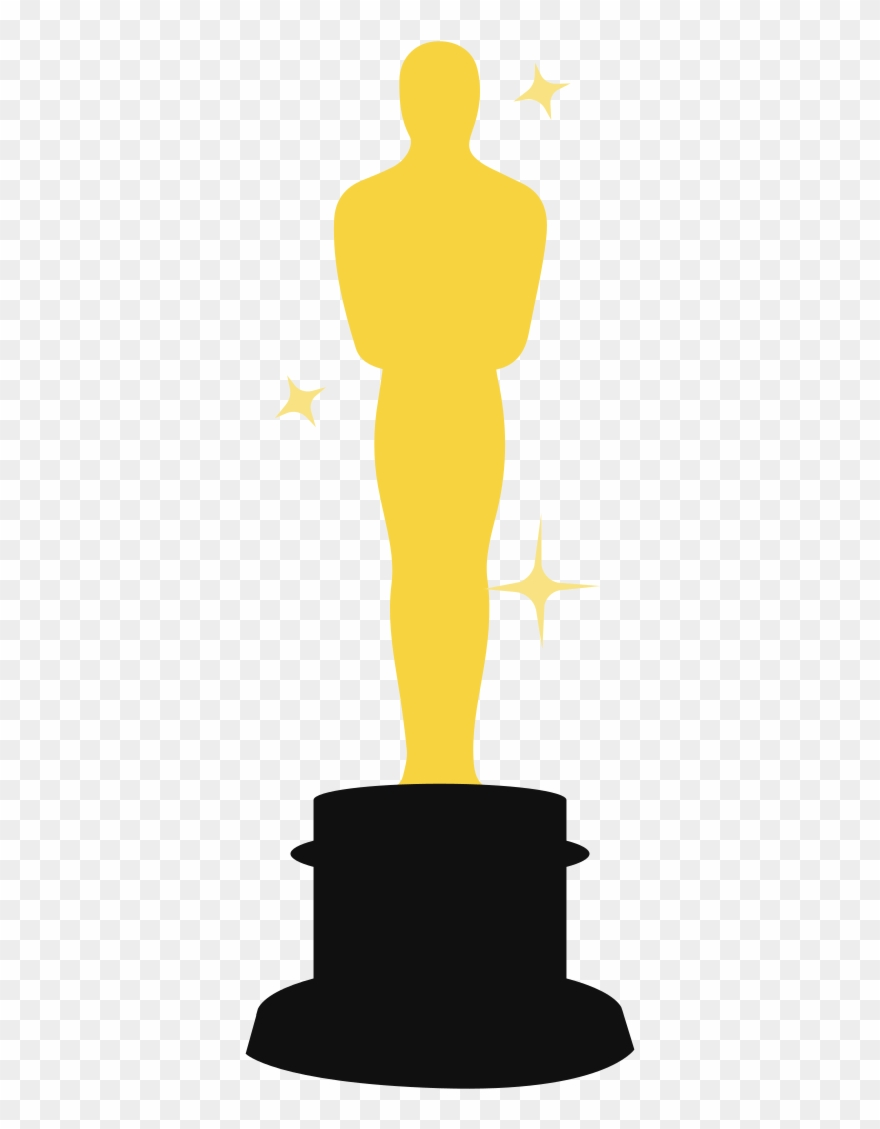 Clipart oscar clipart transparent download Oscar Trophy Template Clipart (#571503) - PinClipart clipart transparent download