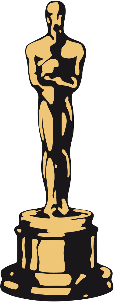 Clipart oscar vector black and white Oscar clip art clipart images gallery for free download | MyReal ... vector black and white