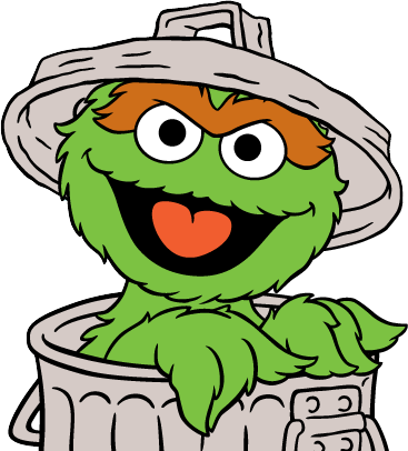 Clipart oscar the grouch clipart library Pin by mary bright on Kids crafts in 2019 | Oscar the grouch, Sesame ... clipart library