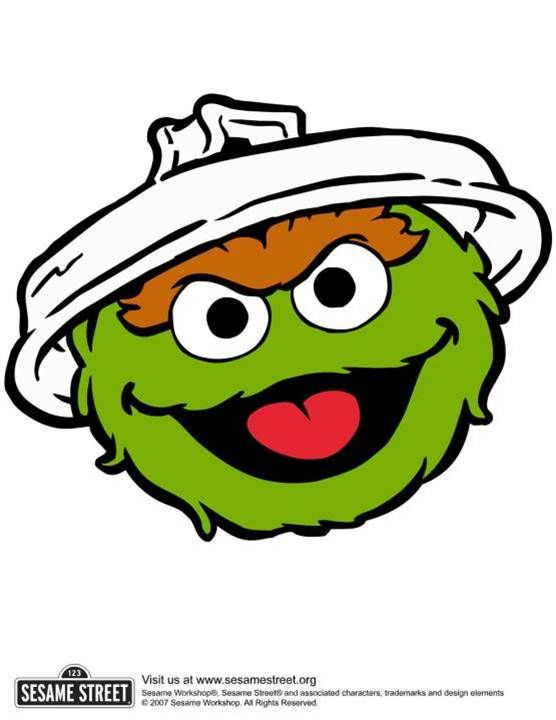 Clipart oscar the grouch clip free 100+ Sesame Street Birthday Party Ideas—by a Professional Party ... clip free