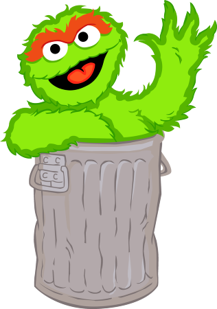 Clipart oscar the grouch picture freeuse library Oscar the grouch clipart clipart images gallery for free download ... picture freeuse library