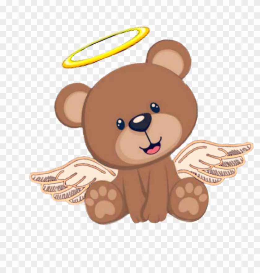 Clipart ositos png transparent stock ángel #angelito #osito #cute #tierno&adorable #bebe - Cute Teddy ... png transparent stock