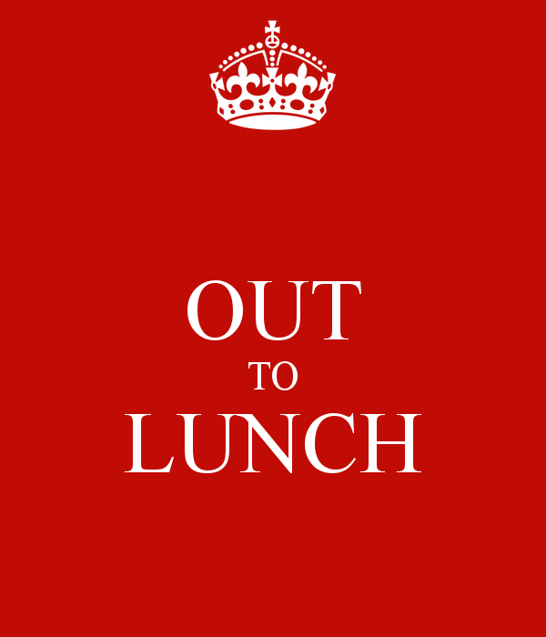 Clipart out to lunch vector freeuse Out To Lunch Sign Clipart - Cliparts and Others Art Inspiration vector freeuse
