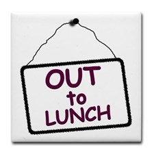 Clipart out to lunch. Signs kid art clip