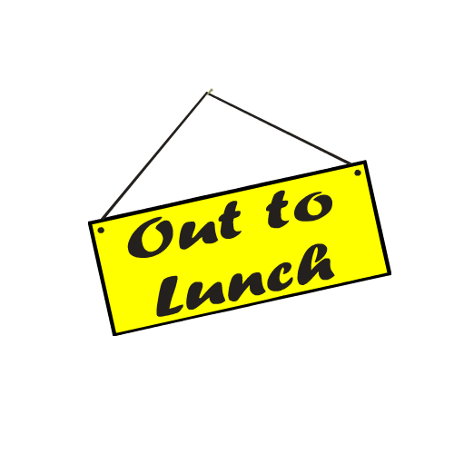 Clipart out to lunch clip art black and white download Out To Lunch Clipart & Out To Lunch Clip Art Images - ClipartALL.com clip art black and white download