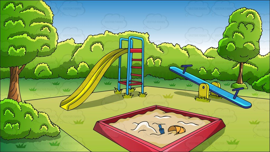 Playground clipart background png free An outdoor playground background #cartoon #clipart #vector ... png free