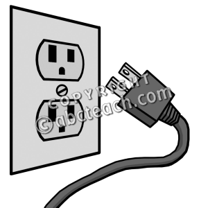 Clipart outlet svg freeuse library Clip Art: Electricity: Outlet | Clipart Panda - Free Clipart Images svg freeuse library