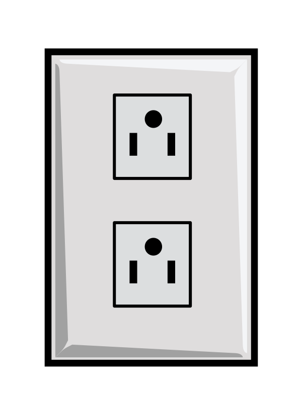 Clipart outlet picture transparent Free Clipart: Power Outlet, US | bnielsen picture transparent