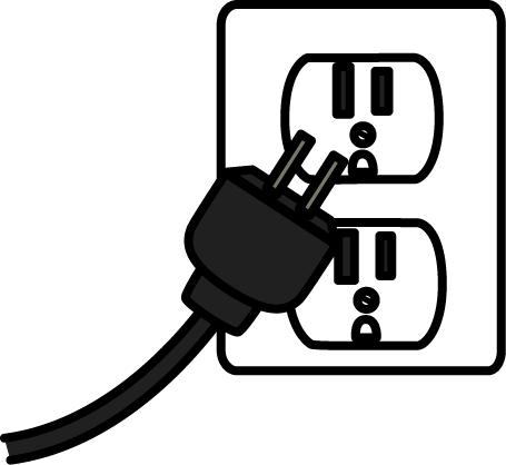 Clipart outlet clip black and white Outlet clipart clipart images gallery for free download | MyReal ... clip black and white