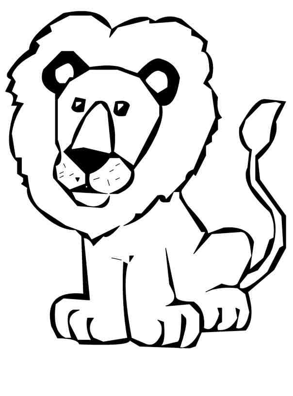 Clipart outline pictures svg freeuse library Free Lion Outline Cliparts, Download Free Clip Art, Free Clip Art on ... svg freeuse library
