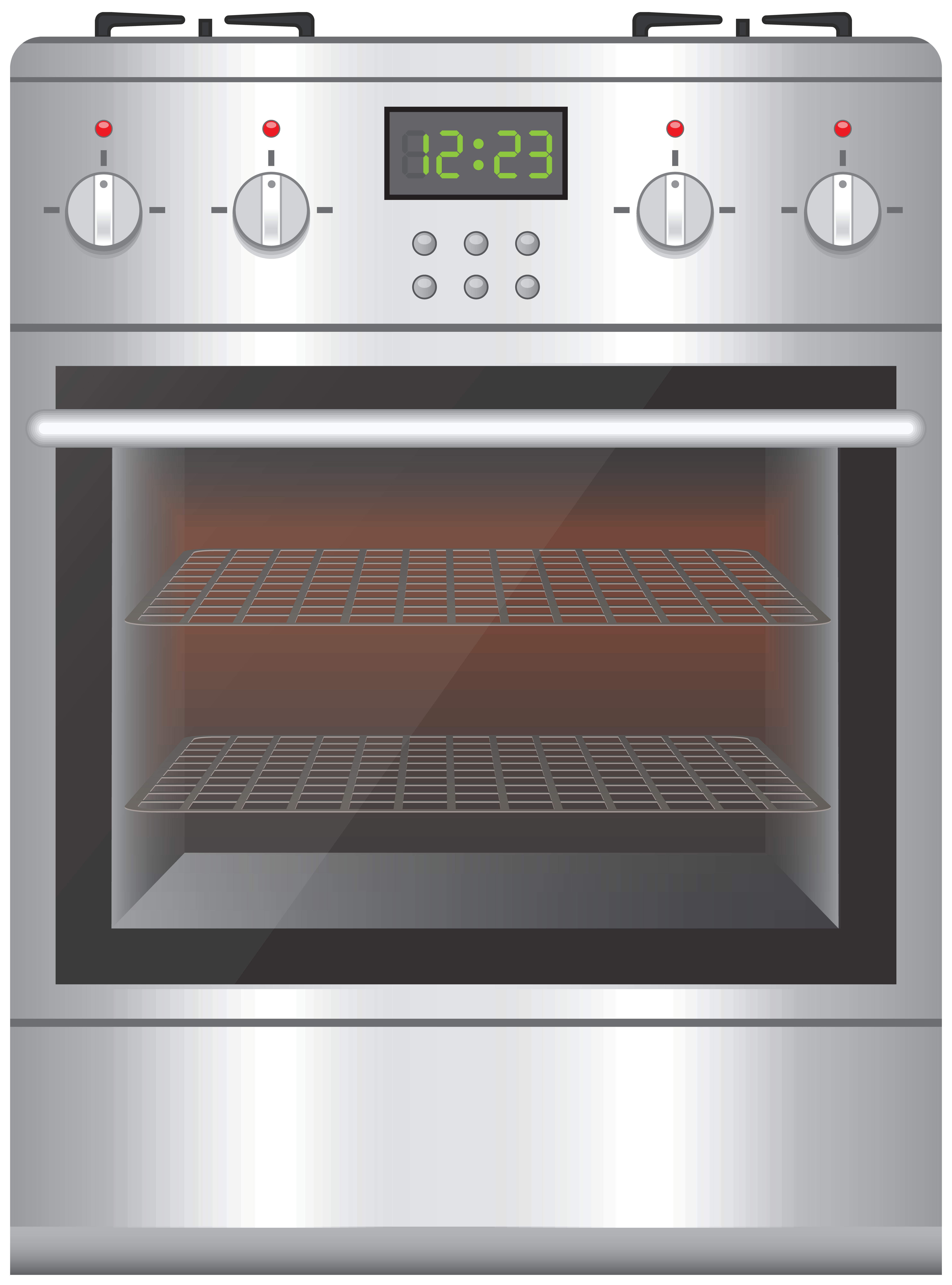 Clipart ove svg black and white download Gas Cooker With Oven PNG Clip Art - Best WEB Clipart svg black and white download