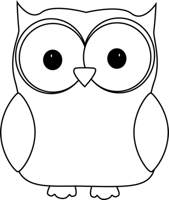 Clipart owl black and white image Black and White Owl Clip Art - Black and White Owl Image image