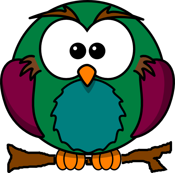 Clipart owl in tree banner library Cute Owl On Branch 2 Clip Art at Clker.com - vector clip art online ... banner library