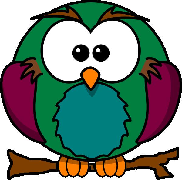 Cute owl on tree clipart jpg Cute Owl On Branch 2 Clip Art at Clker.com - vector clip art online ... jpg