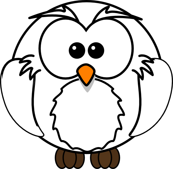Owl book clipart graphic free stock White Owl Clip Art at Clker.com - vector clip art online, royalty ... graphic free stock