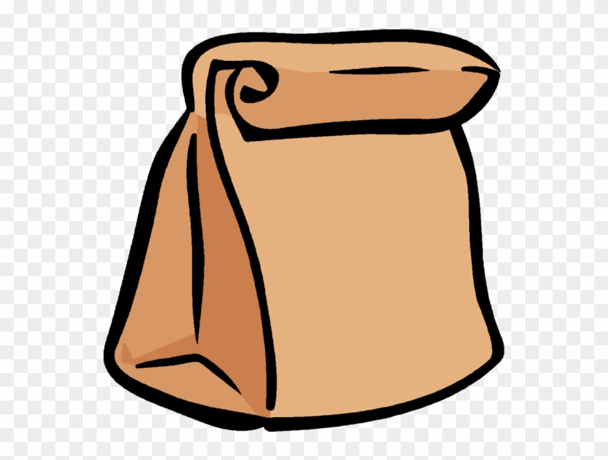 Paper bags clipart graphic black and white library Pack Lunch Clipart - Brown Paper Bag Clip Art - Png Download (#66851 ... graphic black and white library