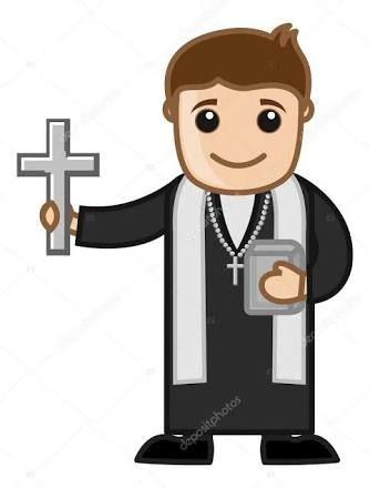 Clipart padre png royalty free library Resultado de imagem para cartoon padre | ideias catequese png royalty free library