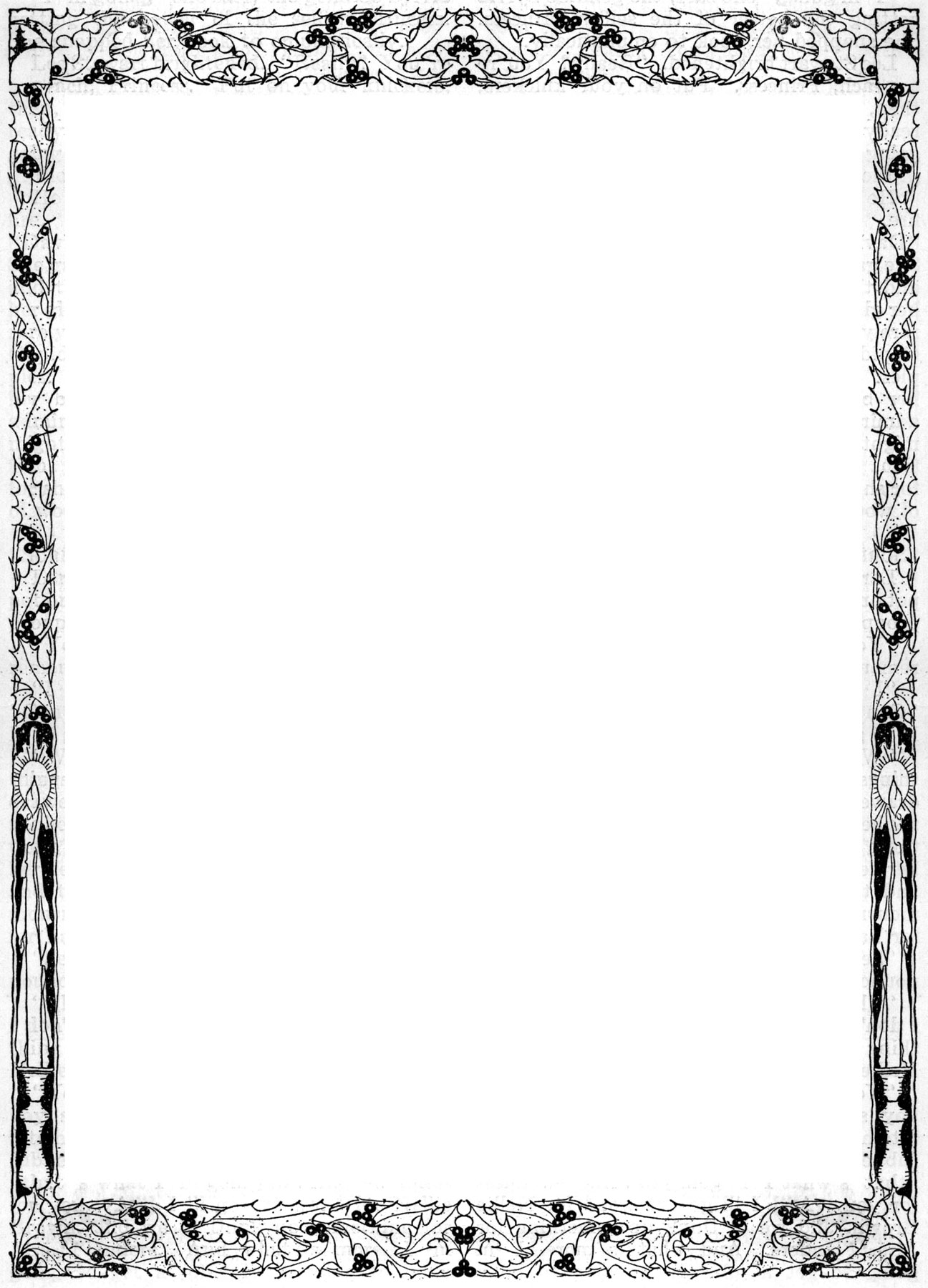 library of jpg black and white library page borders for