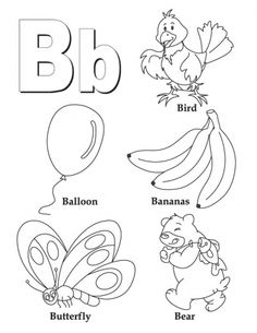 Clipart pages of things that begin with the letter b free library Clipart pages of things that begin with the letter b - ClipartFest free library