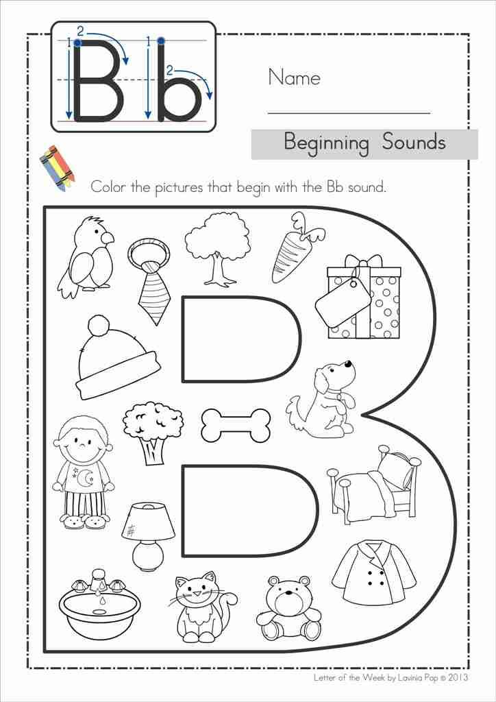 Clipart pages of things that begin with the letter b graphic library 17 Best ideas about Letter B Activities on Pinterest | Letter b ... graphic library