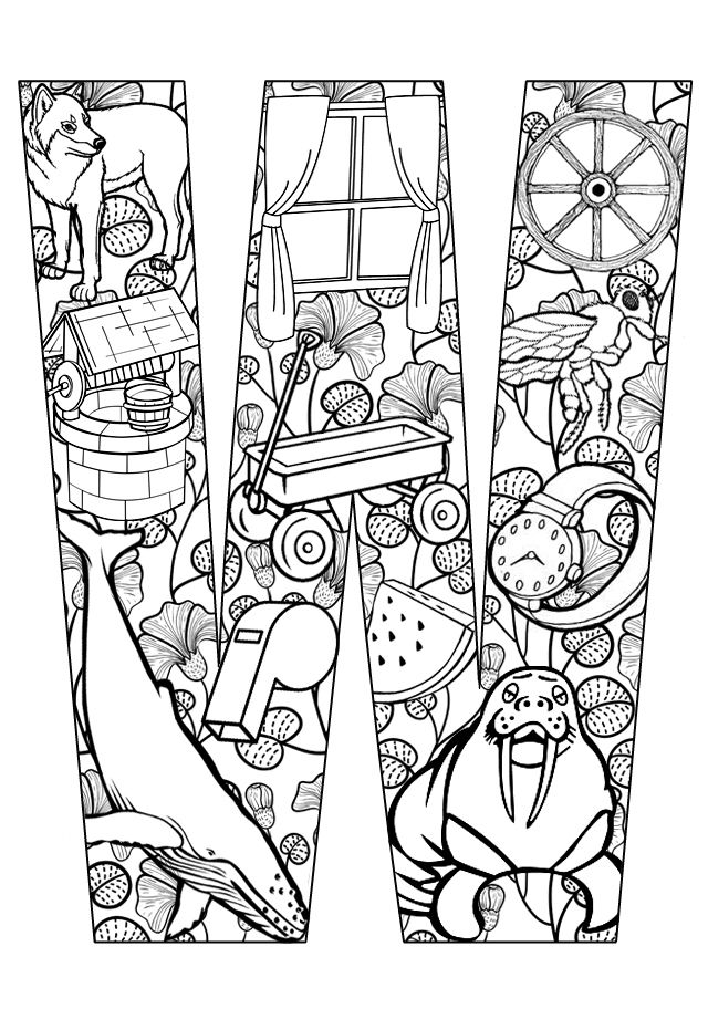 Clipart pages of things that begin with the letter b image library library 17 Best images about Letters (Coloring) on Pinterest | Free ... image library library