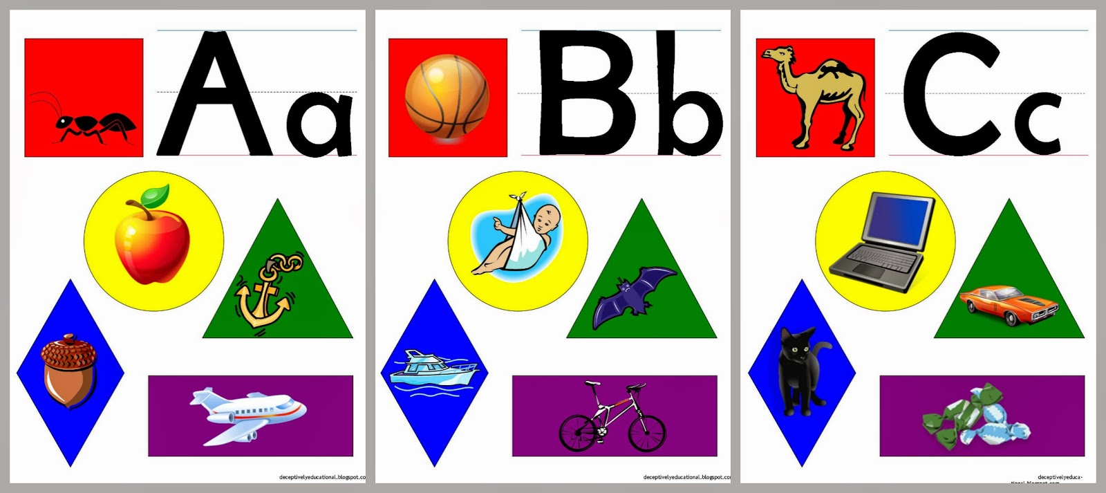 Clipart pages of things that begin with the letter b graphic free Relentlessly Fun, Deceptively Educational: File Folder Phonics and ... graphic free