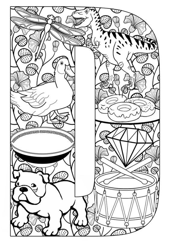 Clipart pages of things that begin with the letter b clipart library stock Letter d clipart pictures of things that start with d - ClipartFest clipart library stock