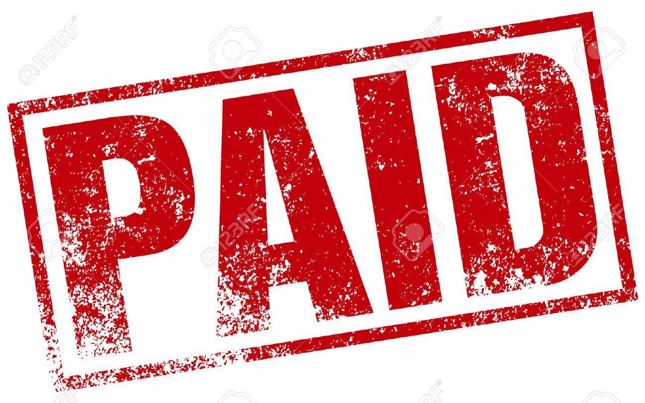 Paid image clipart clipart transparent Paid stamp clipart 2 » Clipart Portal clipart transparent