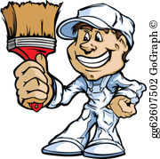 Clipart painters picture stock Painter Clip Art - Royalty Free - GoGraph picture stock