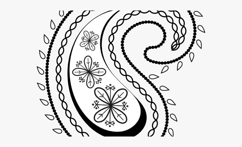Clipart paisley design clip library library Curve Clipart Paisley Print - Look Dia A Dia #1506172 - Free ... clip library library
