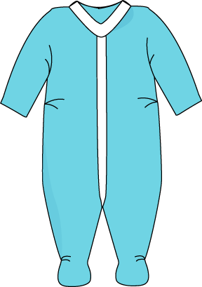 Free clipart pajamas picture free download free clipart for teachers clothing | Blue Footed Pajamas Clip Art ... picture free download