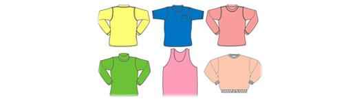 Clipart pakaian