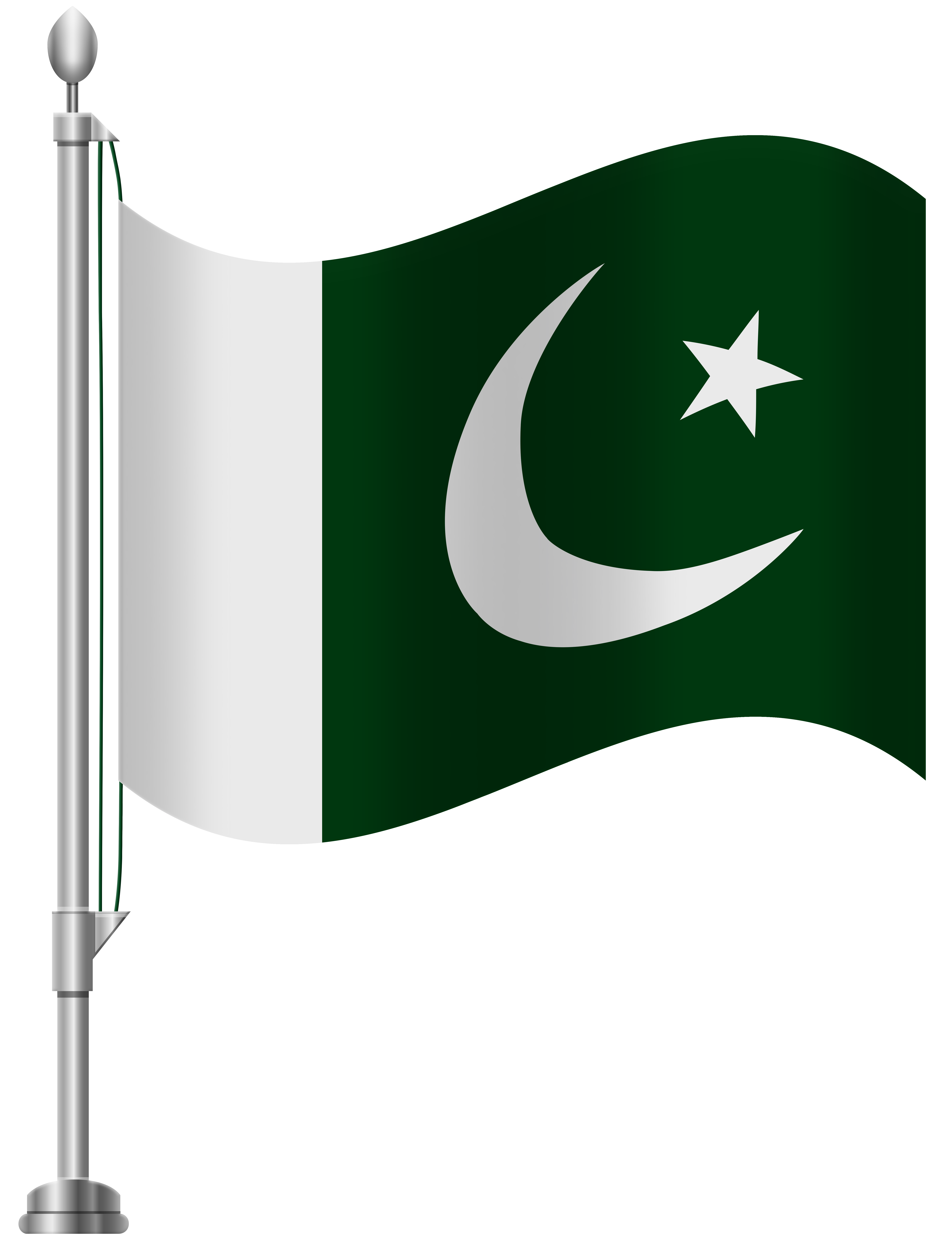 Pakistan flag clipart royalty free library Pakistan Flag PNG Clip Art - Best WEB Clipart royalty free library