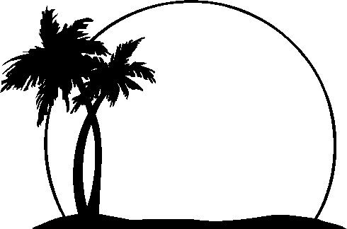Palm tree clipart free black white clip library library black%20and%20white%20tree%20clipart | Auction/ Hawaiian-Tropical ... clip library library