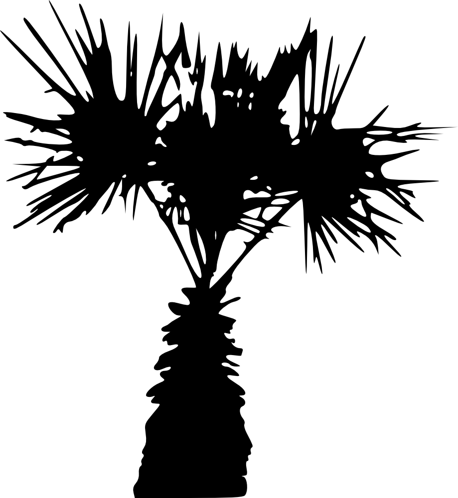 Palm tree silhouette clipart picture free download 15 Palm Tree Silhouettes PNG Transparent Background | OnlyGFX.com picture free download