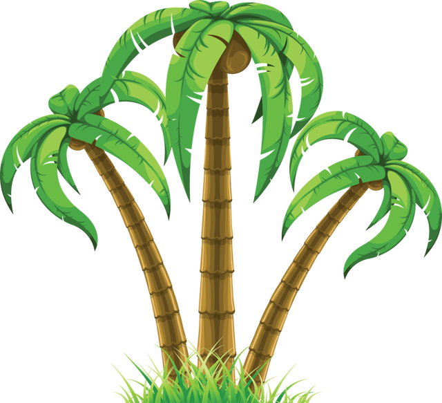 Clipart palm tree free vector library library Web Design & Development | Pinterest | Summer clipart, Clip art and ... vector library library