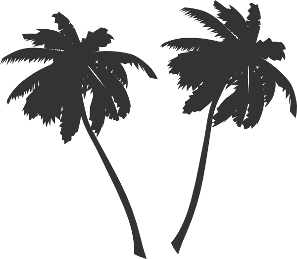 Clipart palm tree sun vector free stock Palm Trees Clip Art at Clker.com - vector clip art online, royalty ... vector free stock