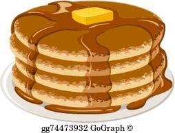 Clipart pancakes freeuse stock Pancakes Clip Art - Royalty Free - GoGraph freeuse stock